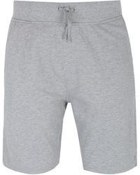 Polo Ralph Lauren Cotton Pique Grey Logo Sweat Shorts