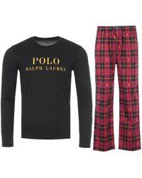 Polo Ralph Lauren Pyjama Trousers Gift Box Set - Black