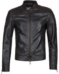 Belstaff Outlaw Black Leather Jacket