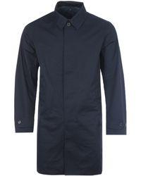 Polo Ralph Lauren Water Repellent Twill Walking Coat - Blue