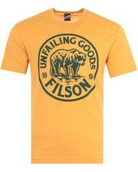 Filson Buckshot Graphic T-shirt - Yellow