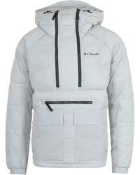 Columbia Kings Crest Nimbus Gray Pullover Jacket
