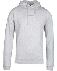 NN07 Barrow 3385 No Nationality Hooded Sweatshirt - Grey
