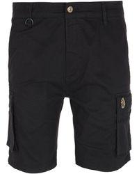 Luke 1977 Club Future Cargo Shorts - Black