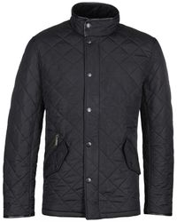 Barbour Powell Black Quilted Jacket