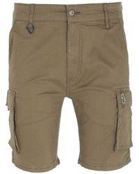 Luke 1977 Club Future Cargo Shorts - Natural