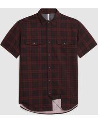 Woolrich Hs Cool Mesh Shirt - Red