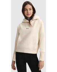 Woolrich Cotton Hoodie - White