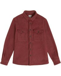 Woolrich Alaskan Twill Overshirt - Red