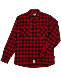 Woolrich Classic Flannel Shirt - Red