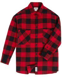 Woolrich Flannel Shirt - Red