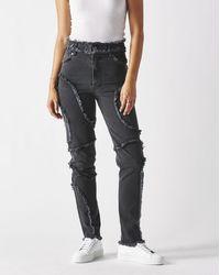 Eckhaus Latta Women's El Jeans - Black