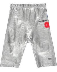 adidas Alexander Wang X Women's Metallic Shorts