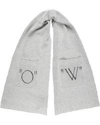Off-White c/o Virgil Abloh - Women's Knit Scarf - Lyst