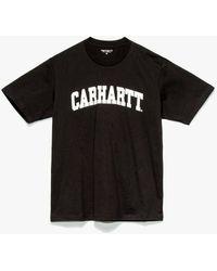 Carhartt WIP College T-shirt - Black