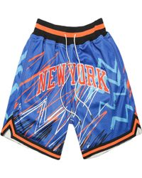 73e6bb75bb4 Just Don - New York Knicks Sublimated Shorts - Lyst