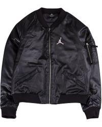 Nike Women's Wings Ma-1 Bomber Jacket - Black