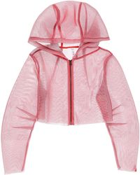 2a8745db3f Alo Yoga Women's Introspective Quilted Puffer Jacket - Cherry Pop in Pink -  Lyst