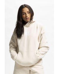 Alexander Wang Women's Garment Washed Hoodie - Natural
