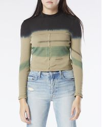 Eckhaus Latta Women's Lapped Longsleeve T-shirt - Multicolour