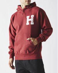 Human Made Logo Hoodie - Red
