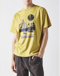 Brain Dead Cosmic Gas T-shirt - Metallic