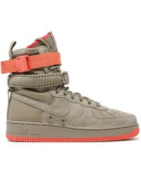 Lyst Nike Sf Air Force 1 in Natural