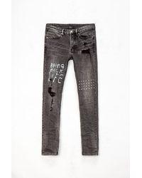 Ksubi Van Winkle Life Scribe Jeans - Gray