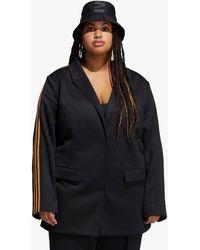 adidas Ivy Park X Women's Suit Jacket (plus Size) - Black