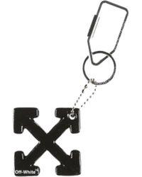 Off-White c/o Virgil Abloh Arrows Key Ring - Black