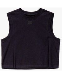 Alexander Wang Women's Foundation Muscle T-shirt - Black