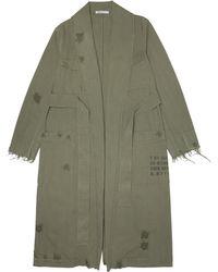 Alexander Wang - Pajama Utility Trench Coat - Lyst