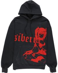 Siberia Hills Dark Queen Hoodie - Red