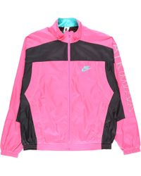 42b9098c5c3c Lyst - Nike Atmos Vintage Patchwork Track Jacket in Pink for Men