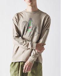 Brain Dead Heatwave Long Sleeve T-shirt - Multicolor