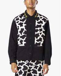 Brain Dead Cow Cabana Shirt - Black
