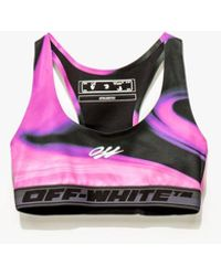 Off-White c/o Virgil Abloh Women's Athleisure Liquid Melt Bra - Pink