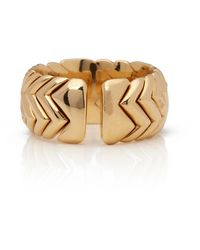 BVLGARI Serpenti Yellow Yellow Gold Rings - Metallic