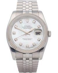 Rolex Datejust 36 Stainless Steel - Metallic