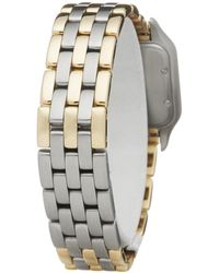 Cartier Panthère Three Row Stainless Steel & Yellow Gold - Metallic