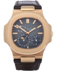 Patek Philippe Nautilus 18k Rose Gold - Metallic