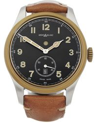 Montblanc - 1858 Dual Time Stainless Steel & Bronze - Lyst