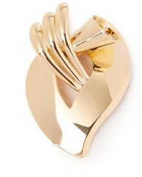 Tiffany & Co. 14k Yellow Gold Vintage Brooch - Metallic