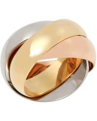 Cartier - Trinity Classic Ring Large - Lyst