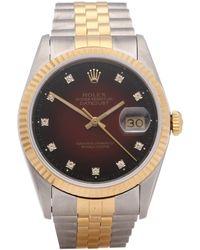 Rolex Datejust 36 Vignette 18k Yellow Gold & Stainless Steel - Metallic