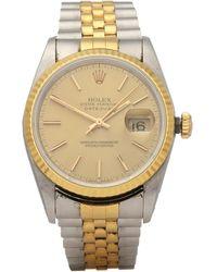 Rolex Datejust 36 18k Yellow Gold & Stainless Steel - Metallic