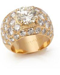"Boucheron Serpent 18k White Gold & Diamond Station Necklace, 10.89 Tdcw, 40""l - Metallic"