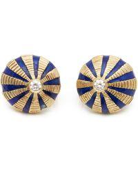Tiffany & Co. 18k Yellow Gold Schlumberger Earrings - Metallic