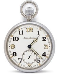 Jaeger-lecoultre Pocket Watch G.s.t.p Military Pocket Watch Stainless Steel - Metallic