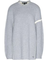 Y-3 - Oversize Spacer Wool Sweater - Lyst
